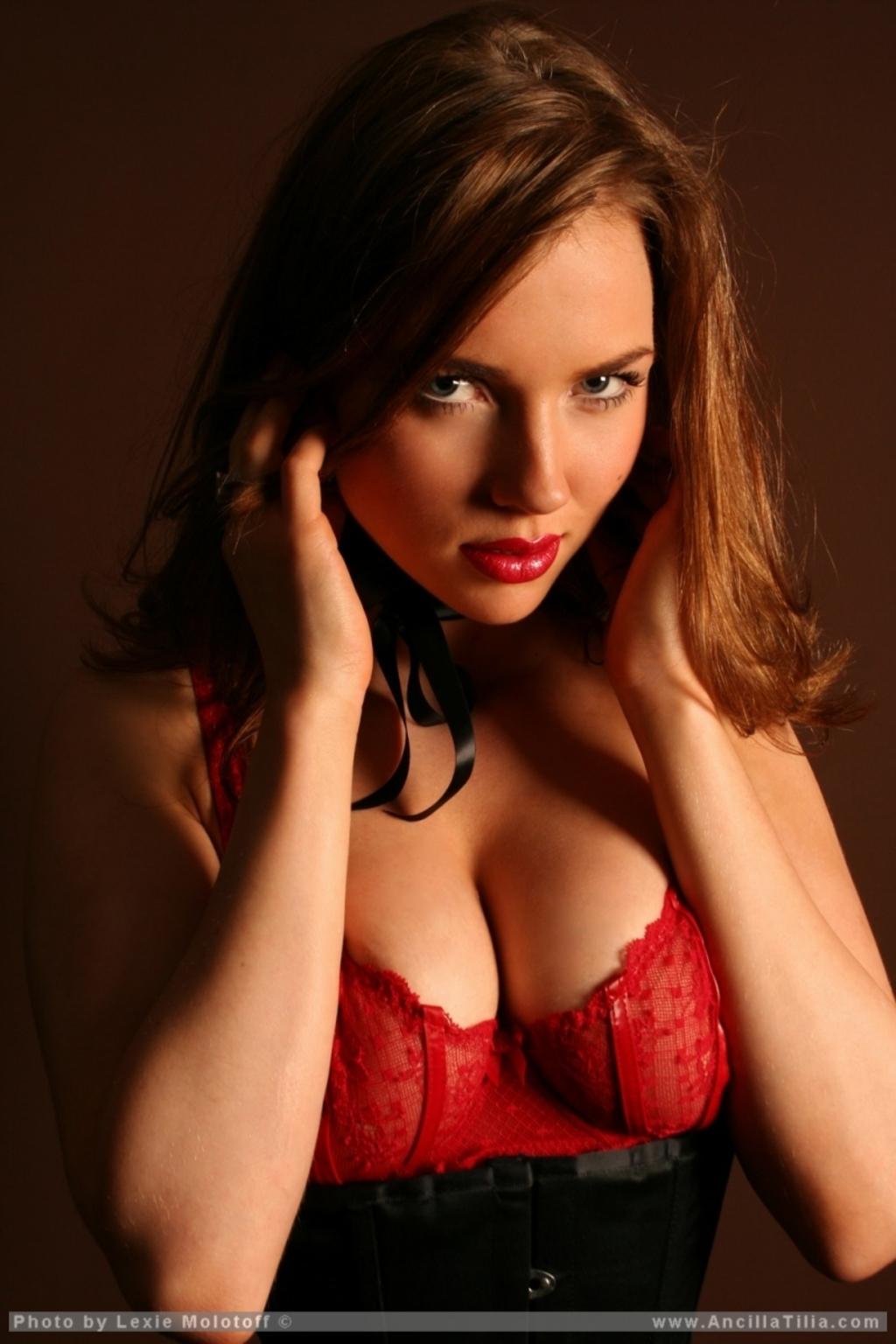 Ancilla Tilia Naked cherry nudes - ancilla tilia corset