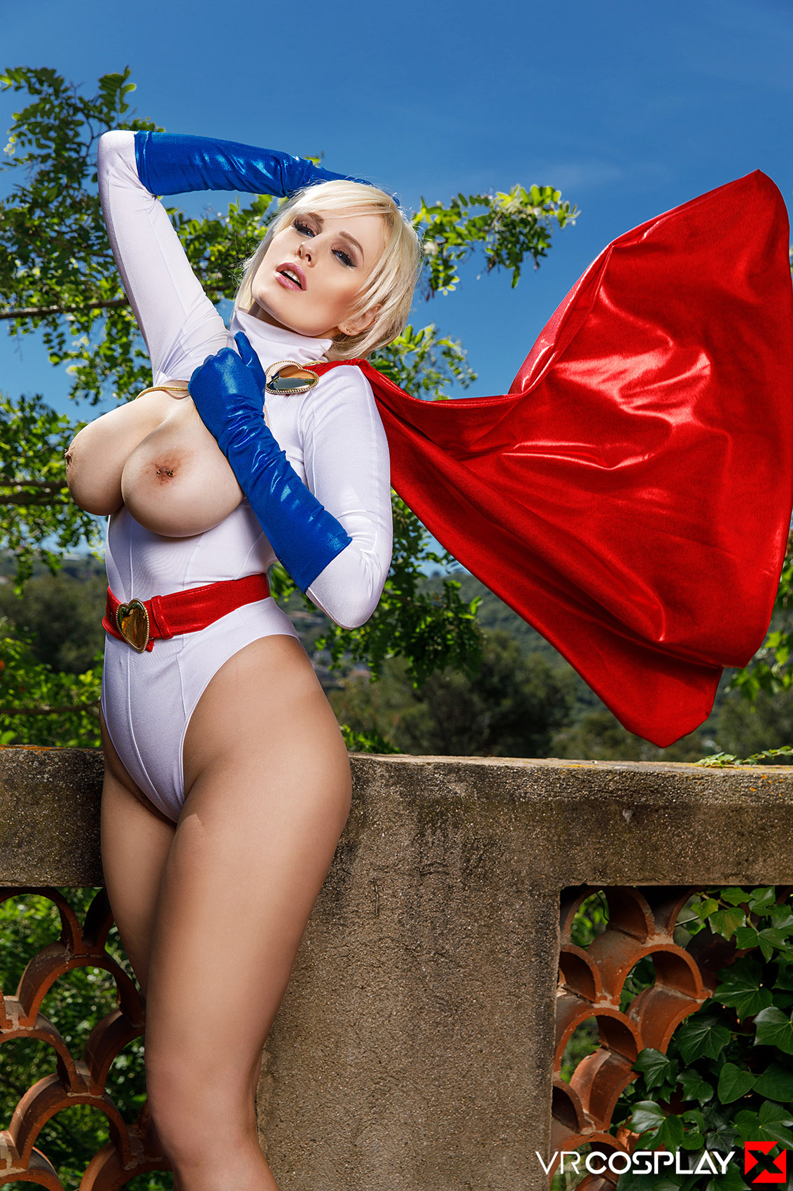 Angel Wicky Powergirl Xxx Cosplay-5201