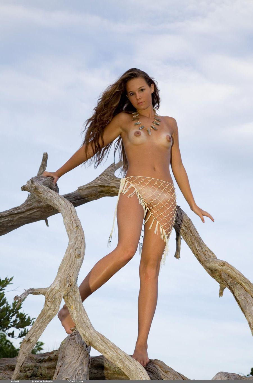 Nudes on a beach-6279