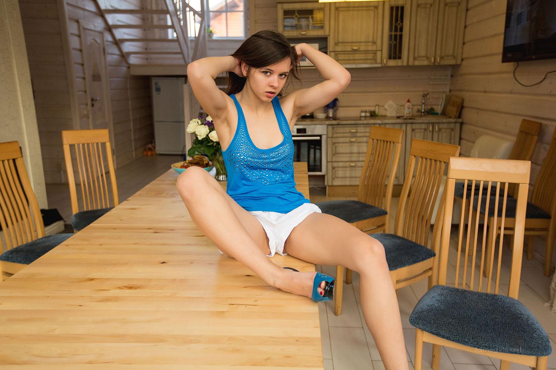 Girls Home Alone Nude