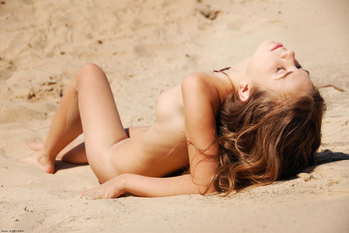 girl stranded naked