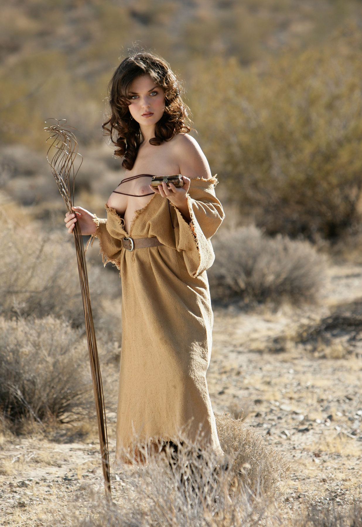 Elizabeth Marxs Fantasy Lingerie  Hot Girl Hd Wallpaper-9763