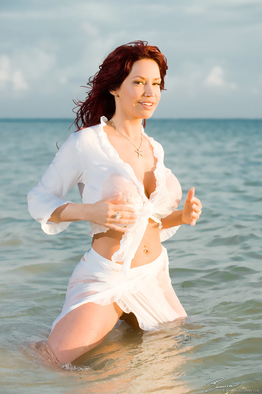 Things, Bianca beauchamp wet and naked are