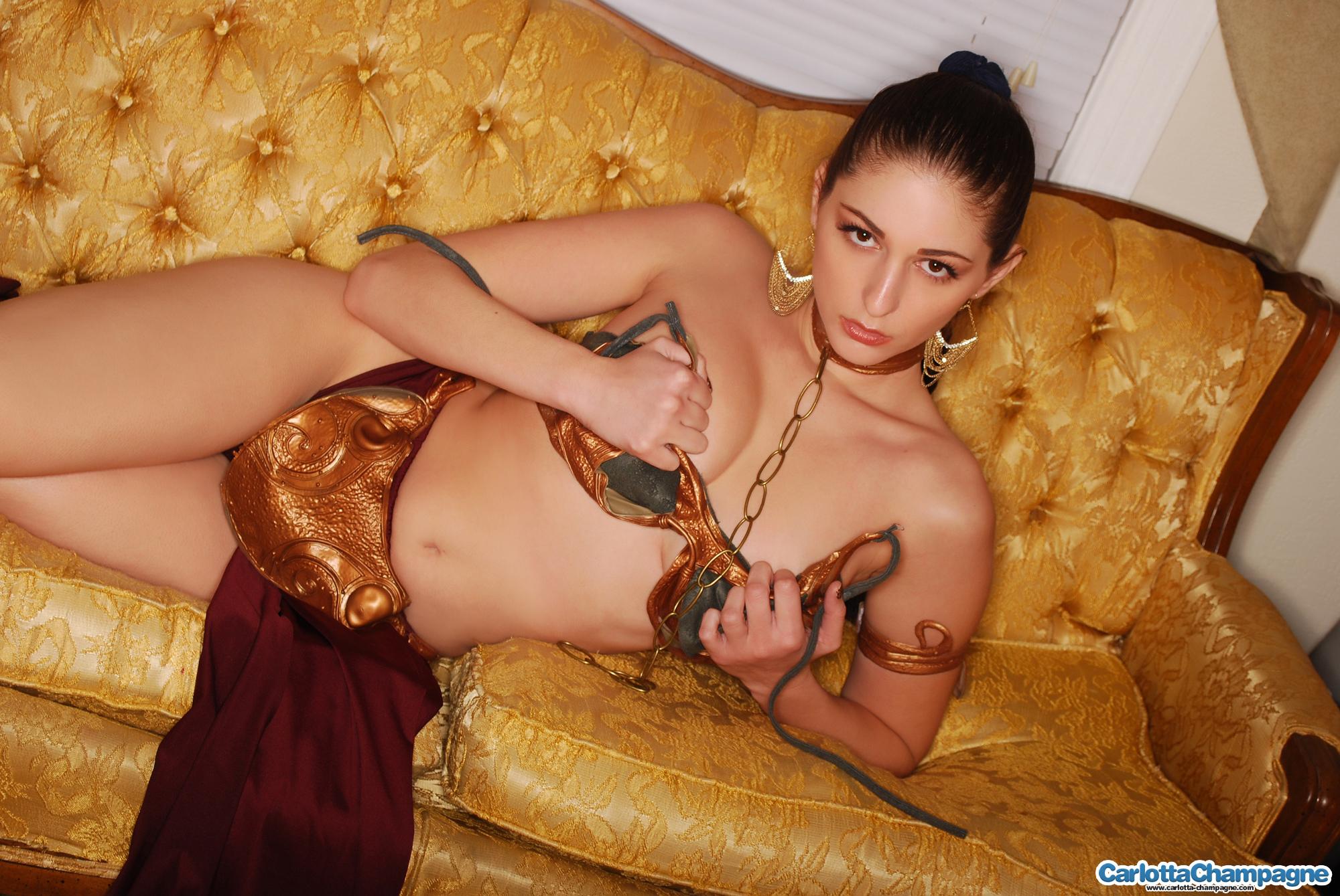 Sexy nude star wars leia hentai porno videos