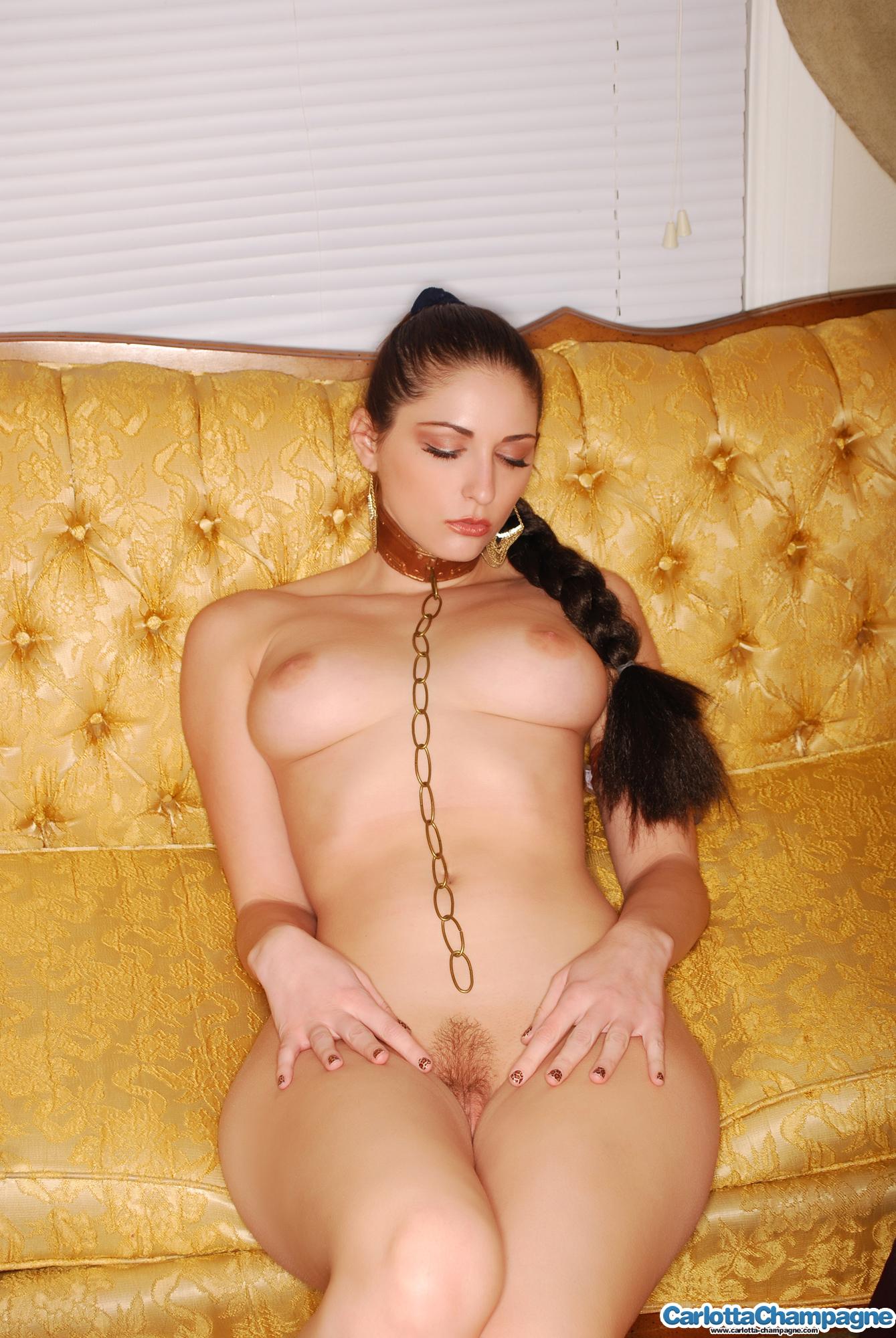 Leia naked Slave