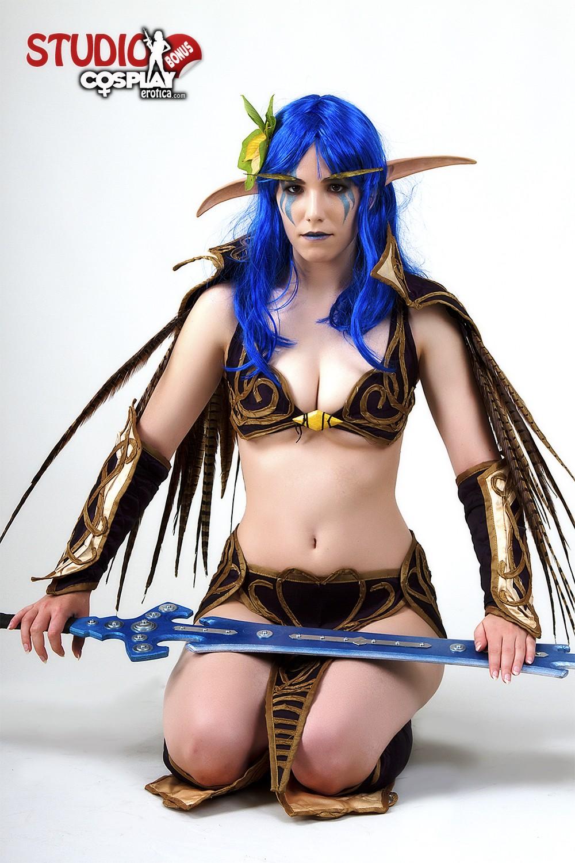 Wow draena nude cosplay nude photos