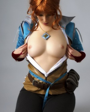 Cosplay triss nude The Witcher