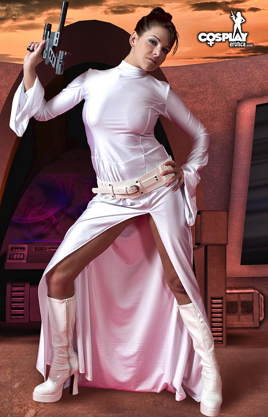 Princess leia cosplay porn