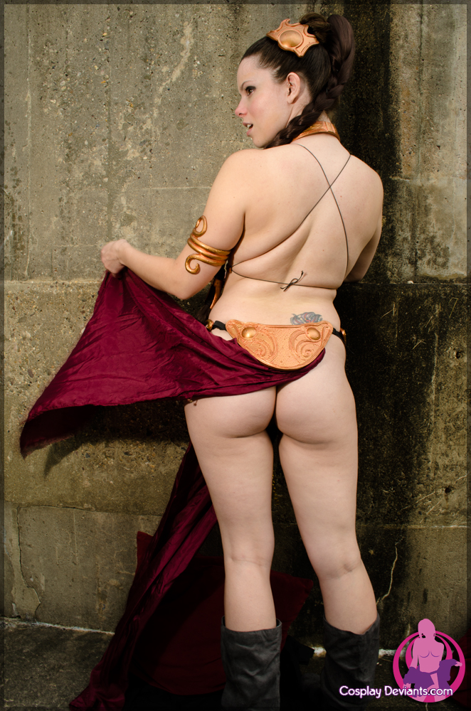 Princess leia slave naked were