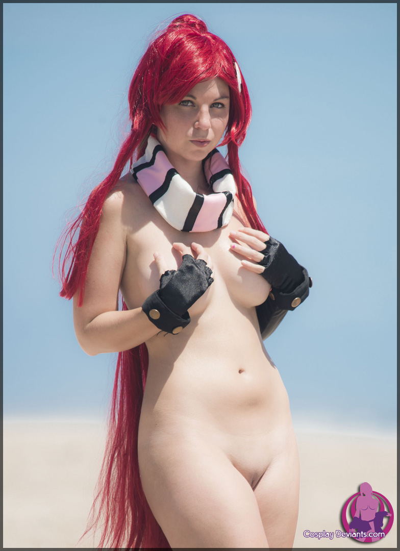 Cosplay female nude