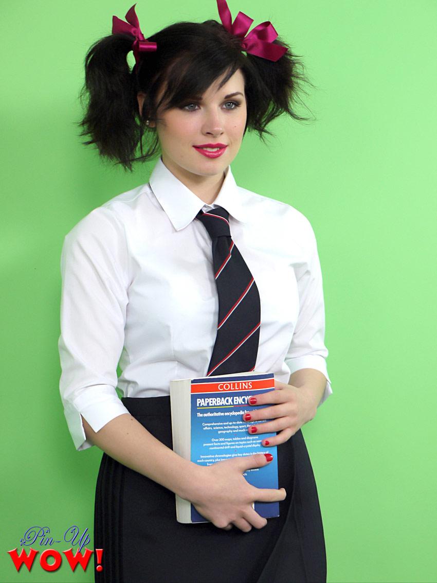 Jocelyn Schoolgirl Pinup