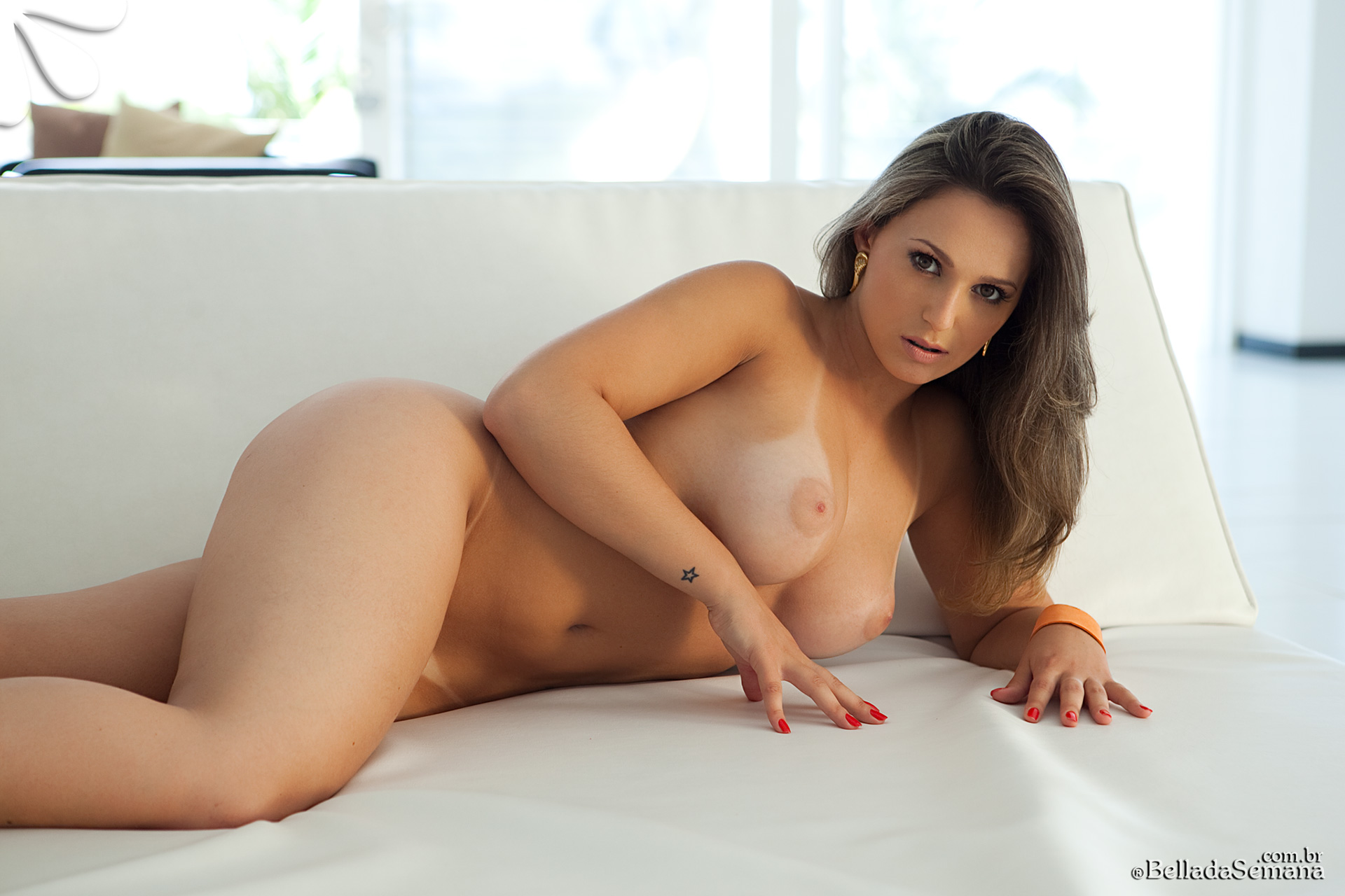 Opinion you Aline hernandez nude more modest