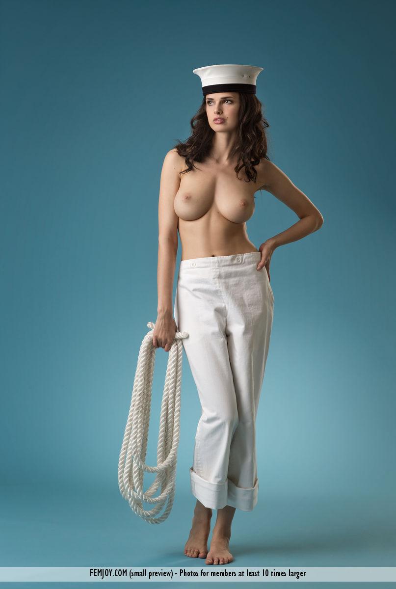 Sailor girl naked — img 3