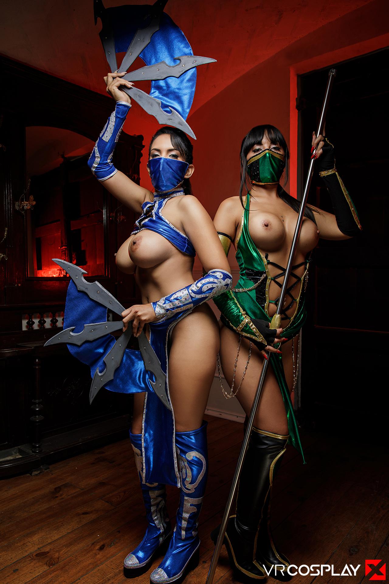 Katrina Moreno Mortal Kombat XXX Cosplay 7