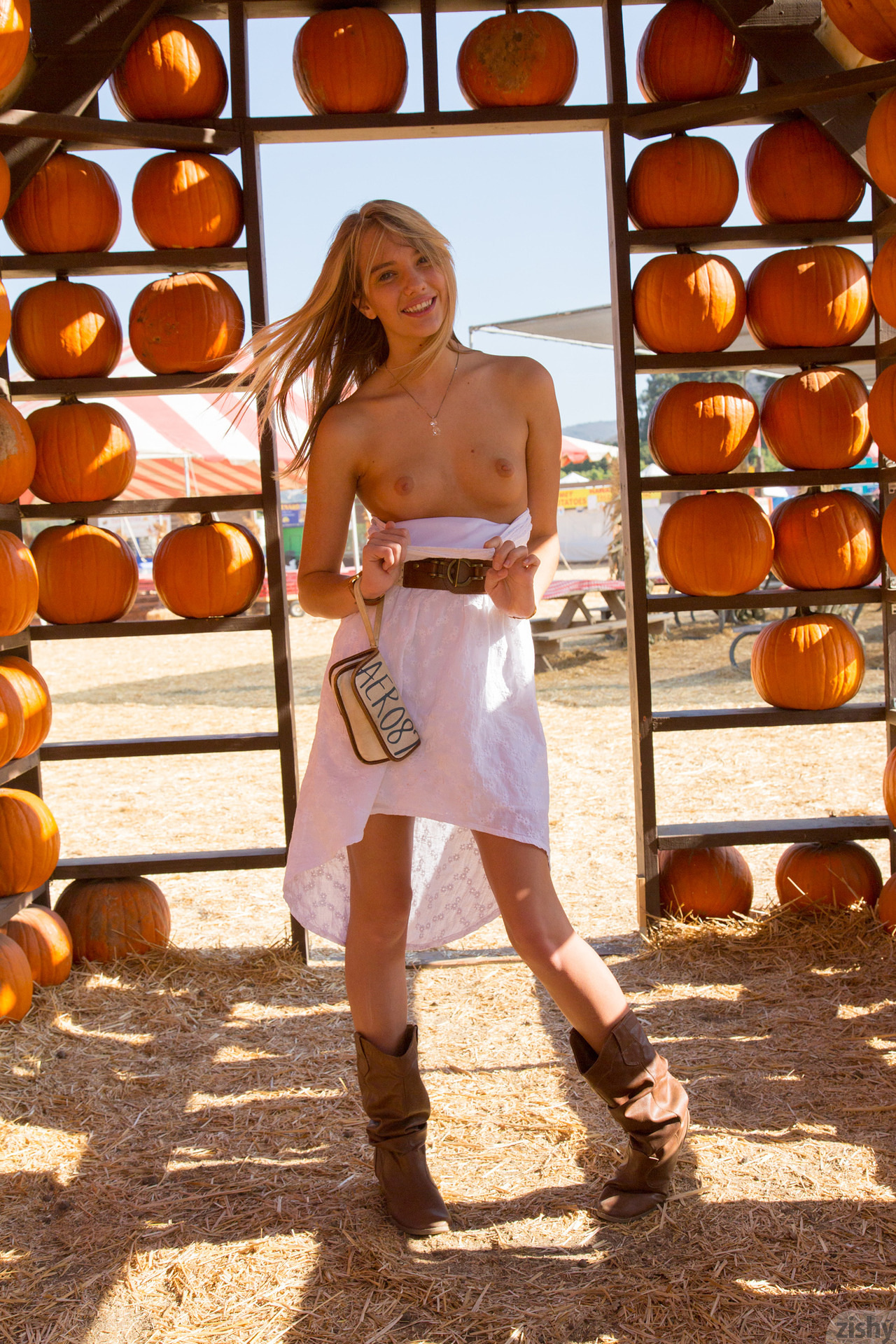 Nude kenna james pumpkin