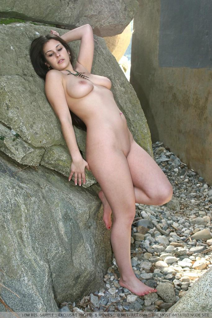 Met art nude model big tits time become