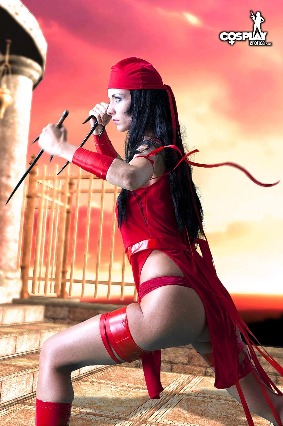 Elektra hentai manga sexy pictures