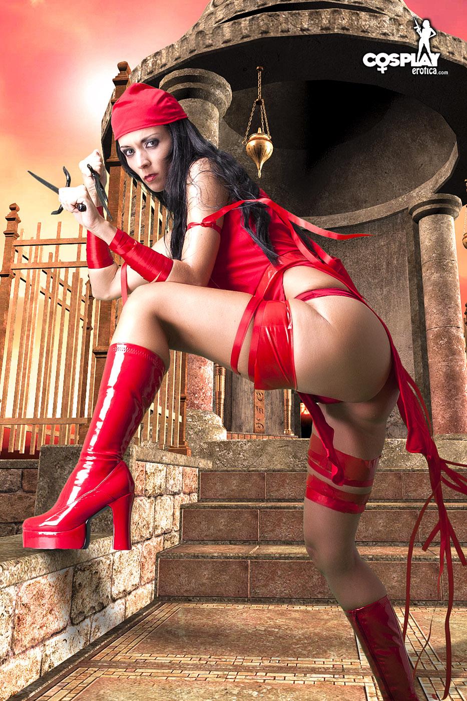 Lana Electra Daredevil Cosplay-8023
