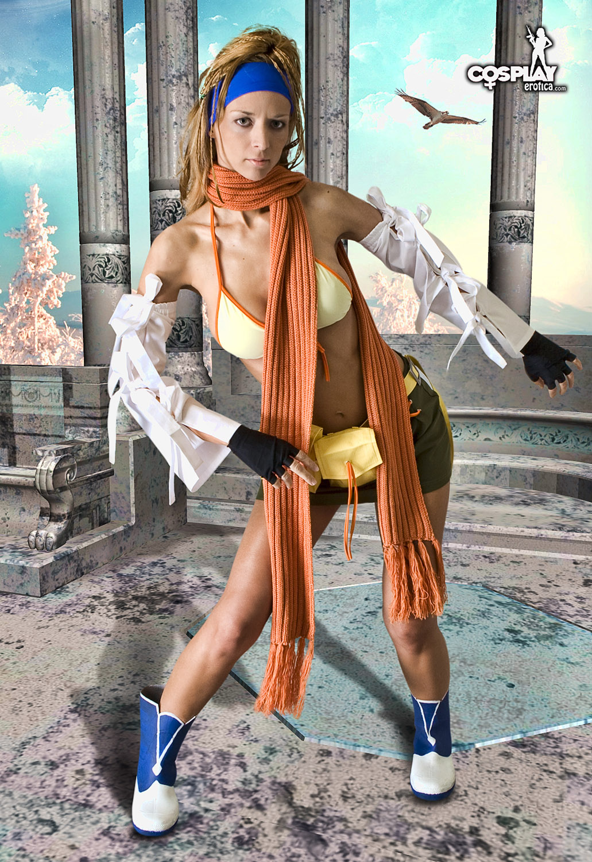 Lana Rikku Fantasy Cosplay-8777
