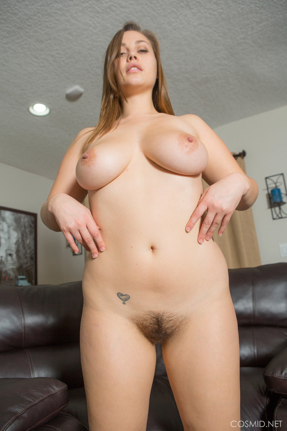 Women nude white thick