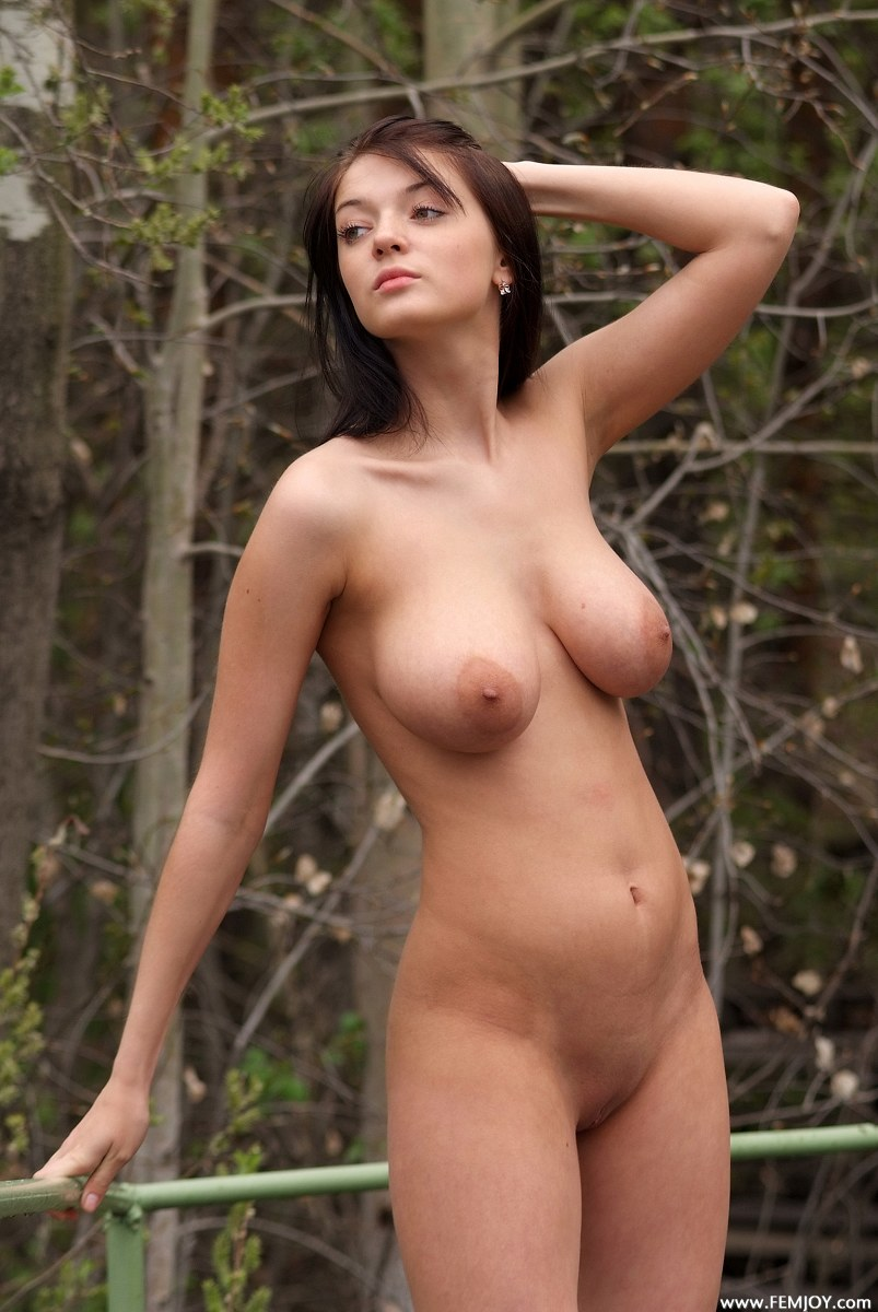Ladies tied up in the woods naked