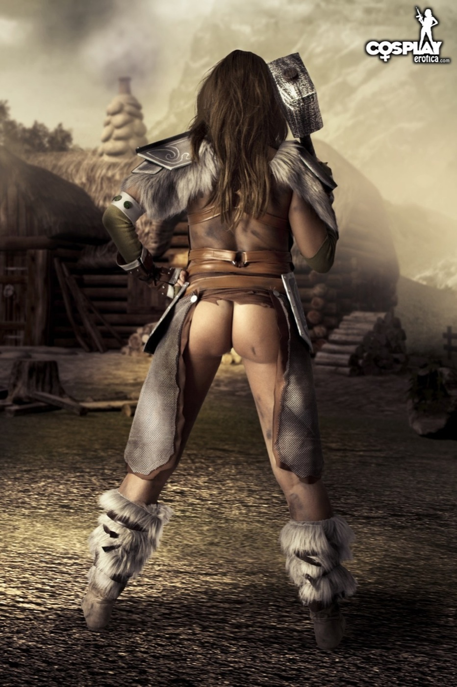 Cosplayerotica aela the elder scrolls nude cosplay