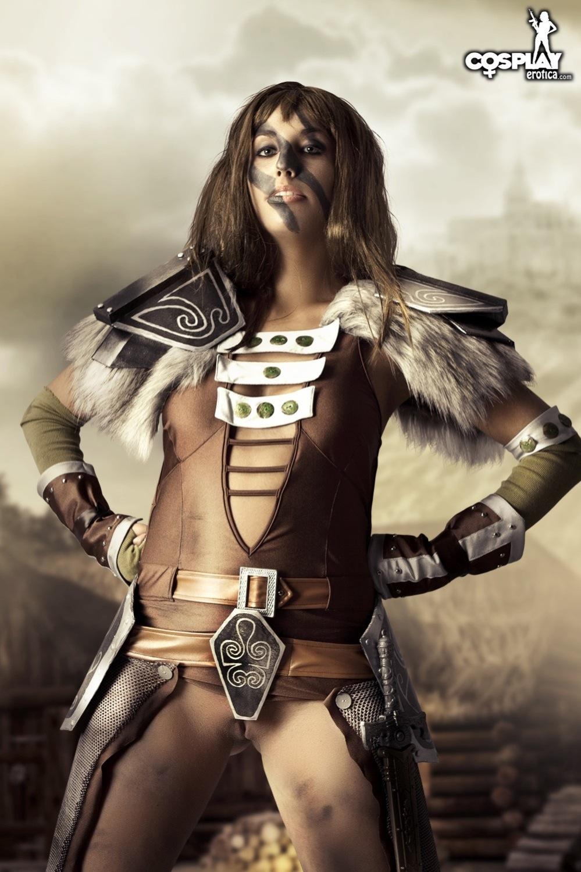 Nude aela Skyrim cosplay