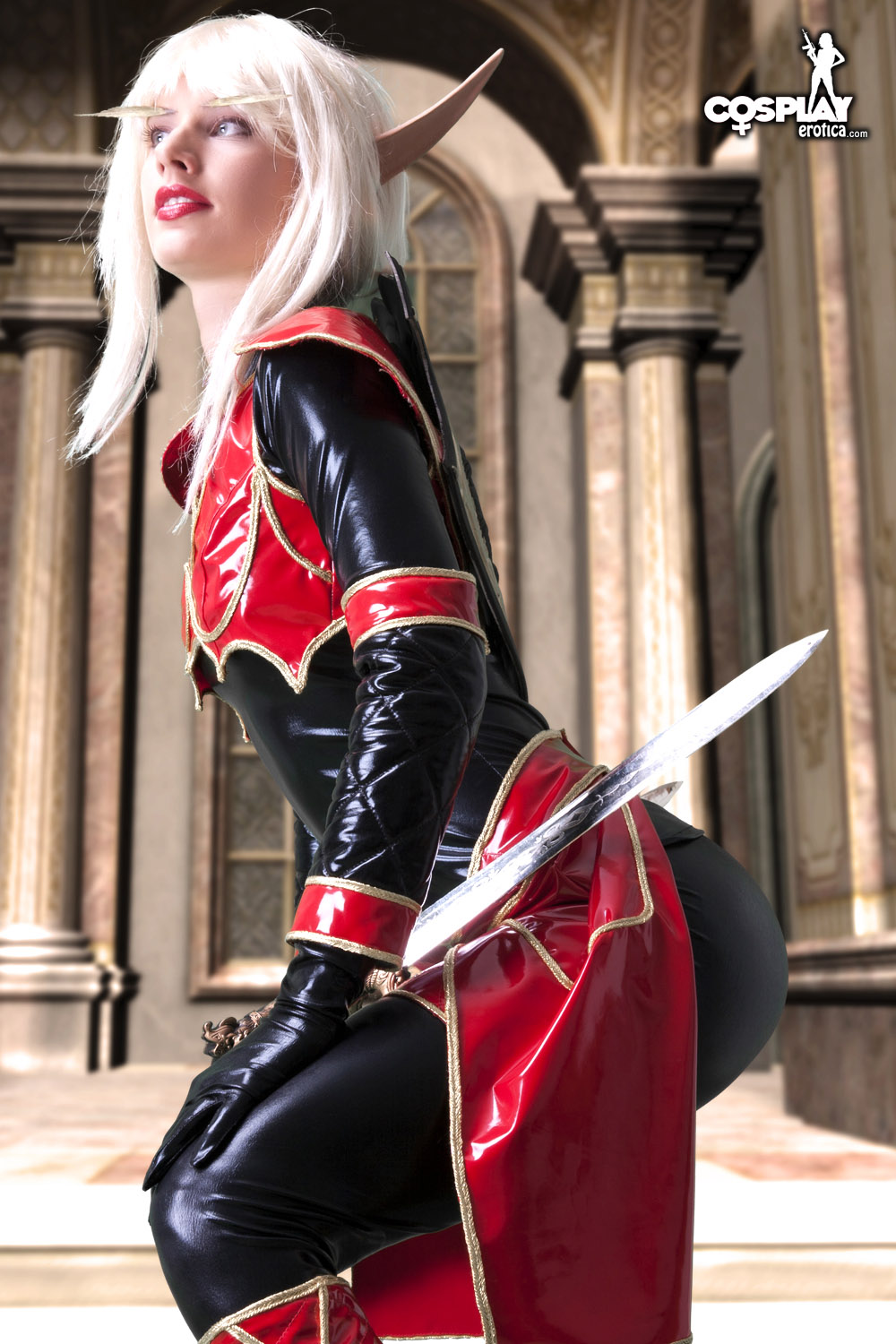 World of warcraft blood elf cosplay nude anime video