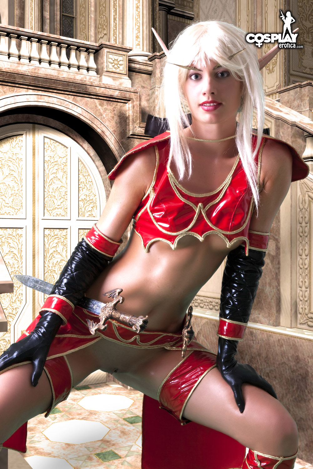 porn Sexy cosplay elf girl