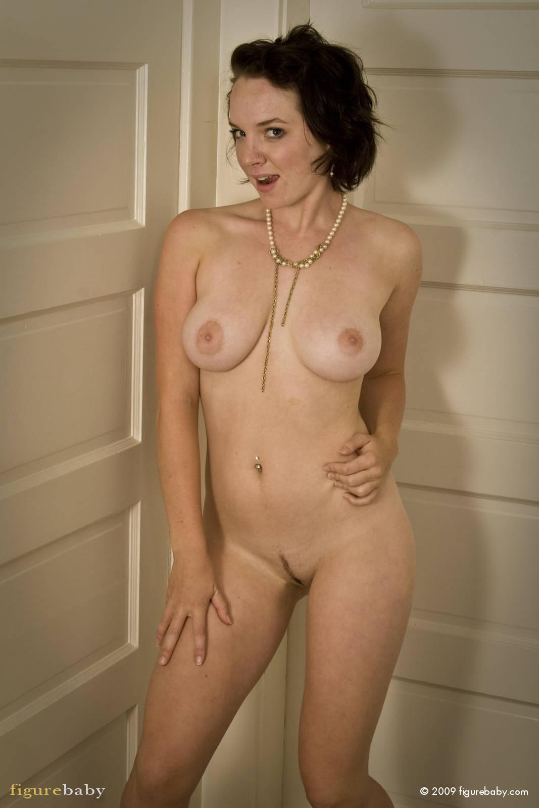 Pale white tits maya