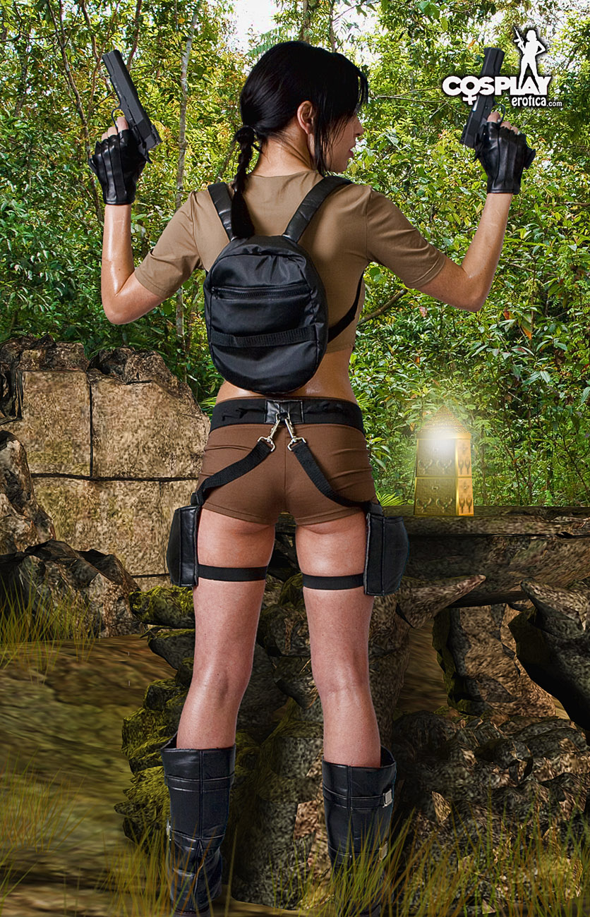 Lara croft no clothes mod uncensored sexy scene