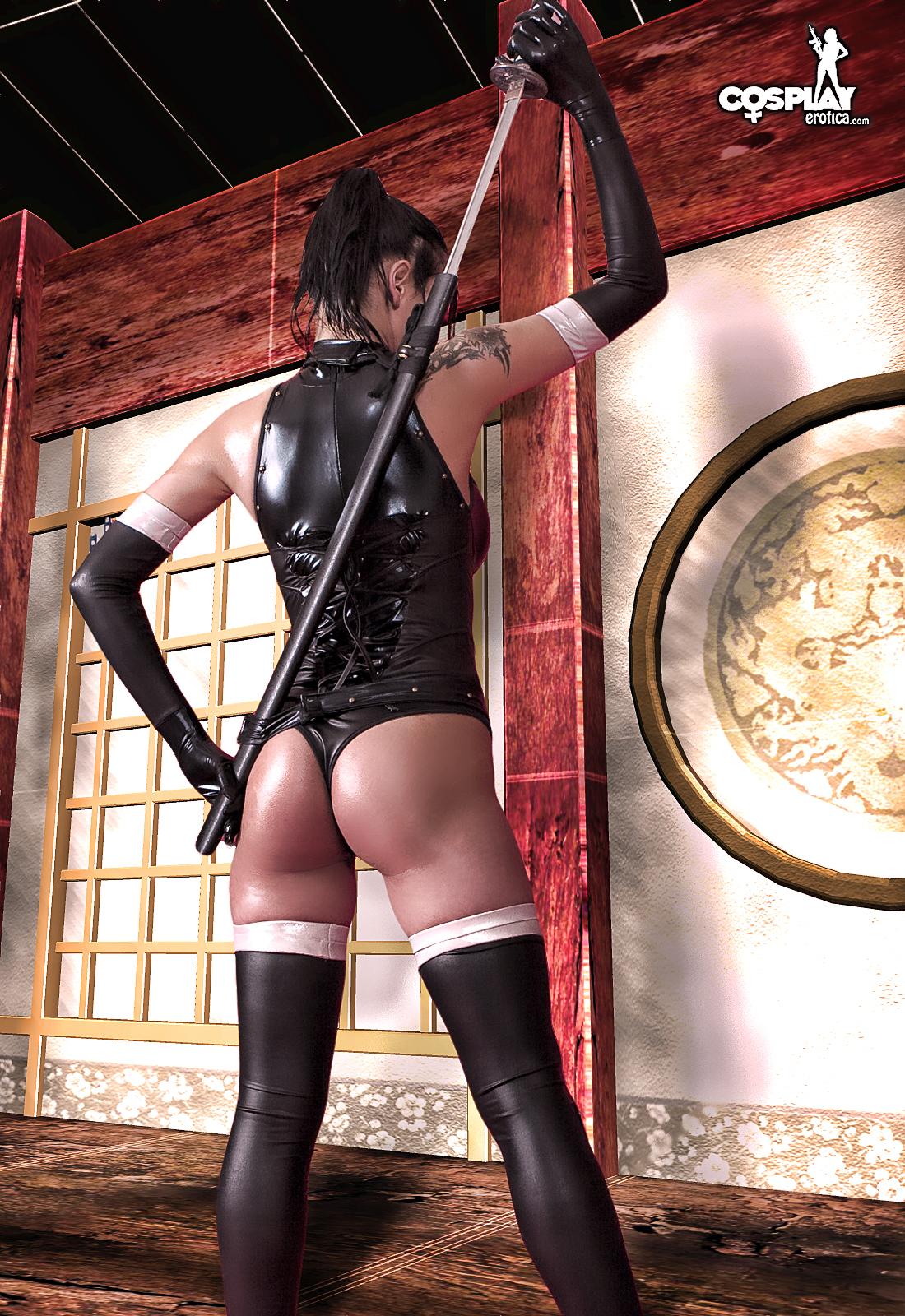 Sexy nude ninja porn clips