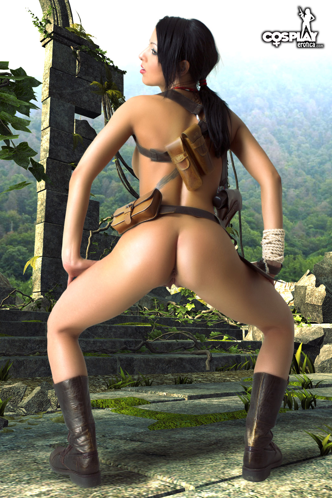 Tomb raider 2013 erotic naked sexy pornstar