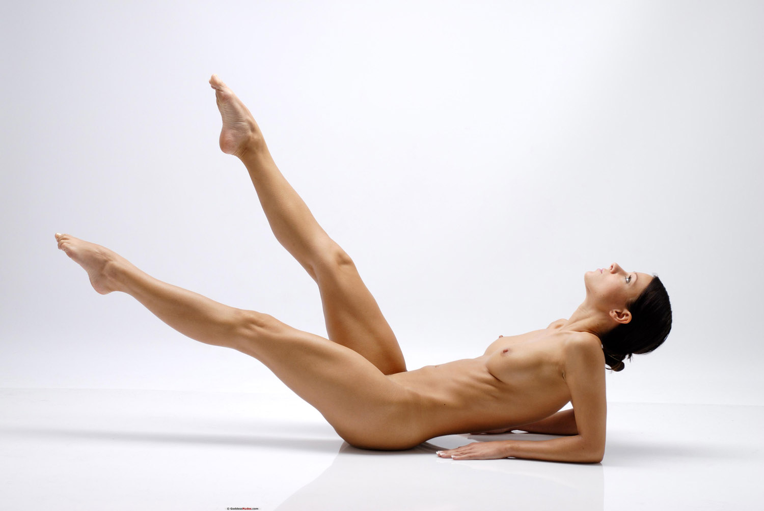 Logically Melissa a nude yoga this