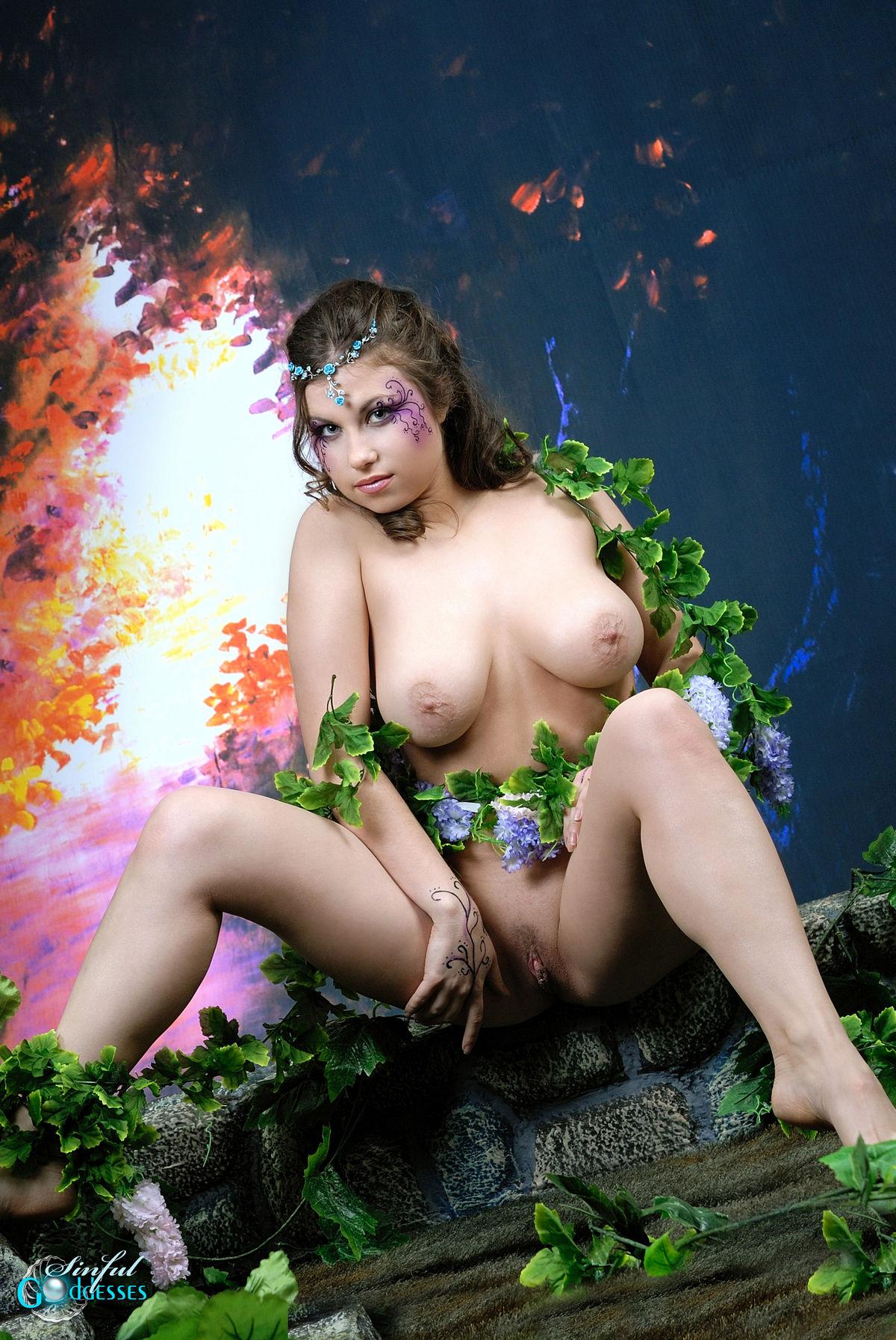 Sinful goddesses nude