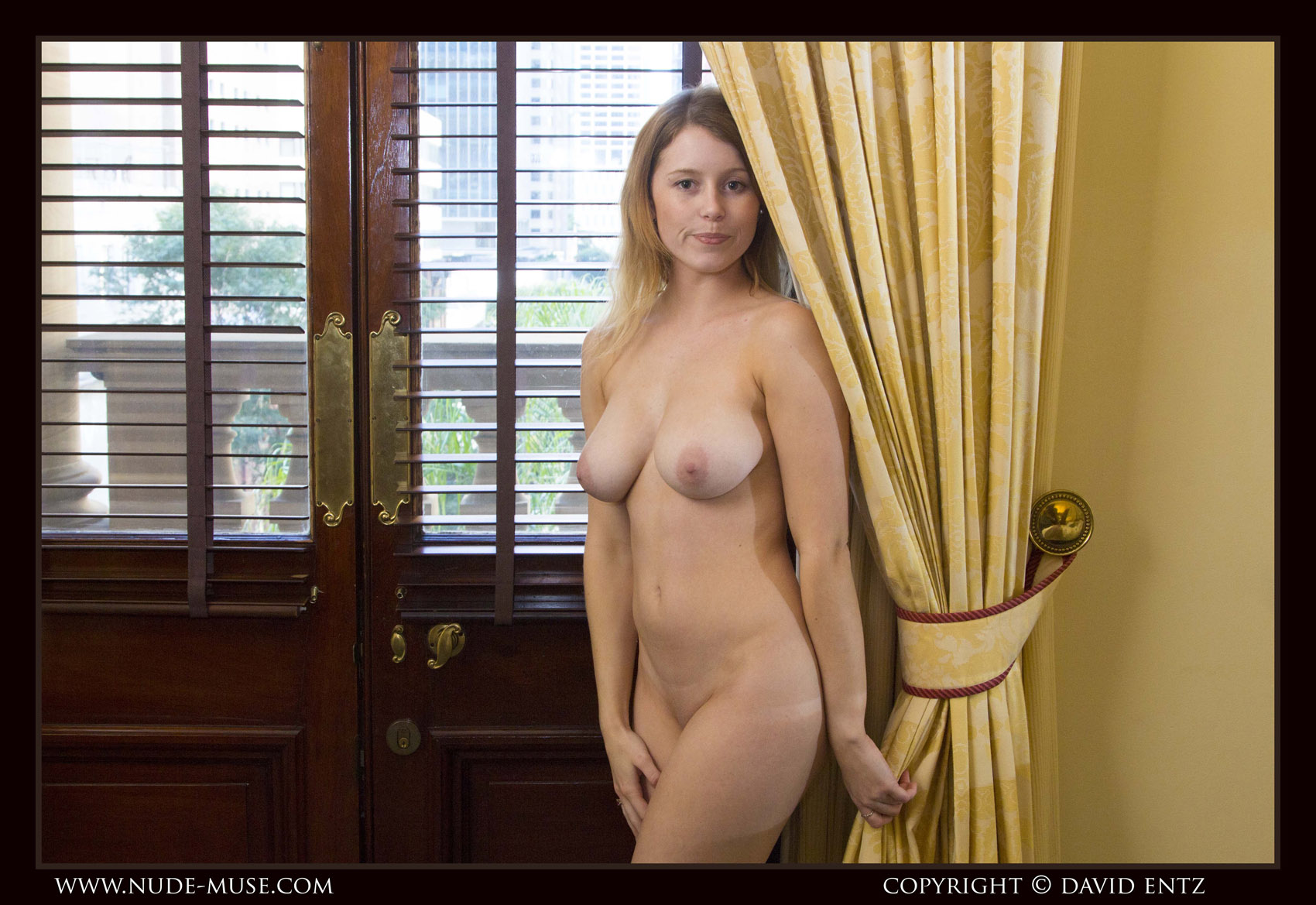 Misty Day Window Nude Muse 4-8224