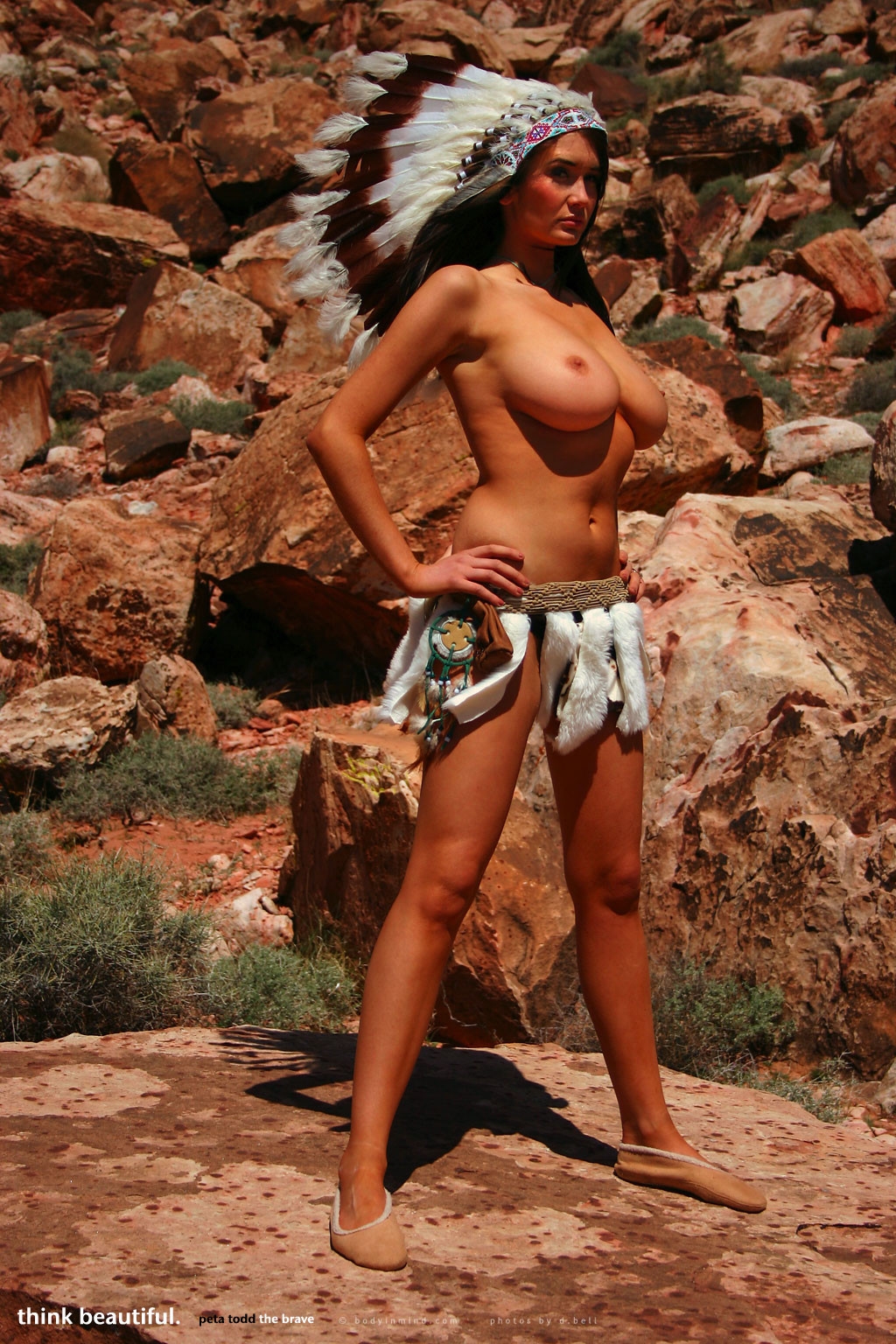 busty nude native american girls