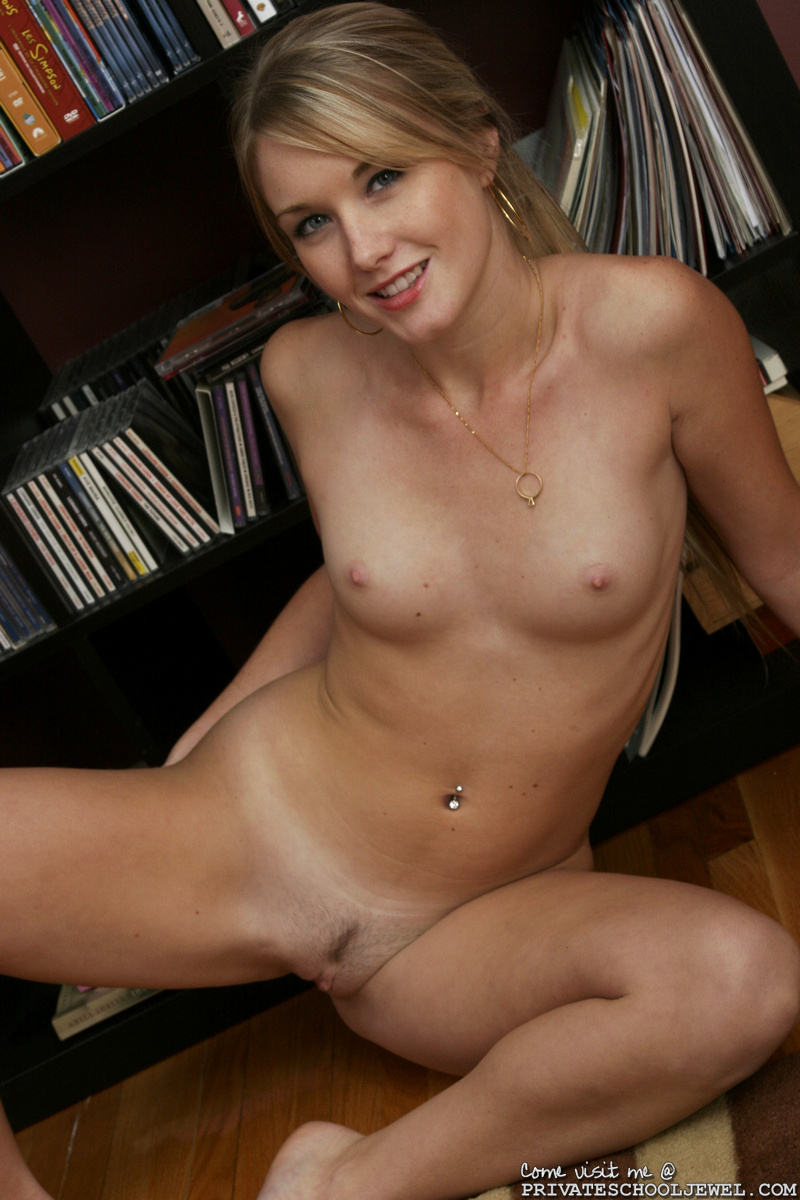 Amateur ass spread naked