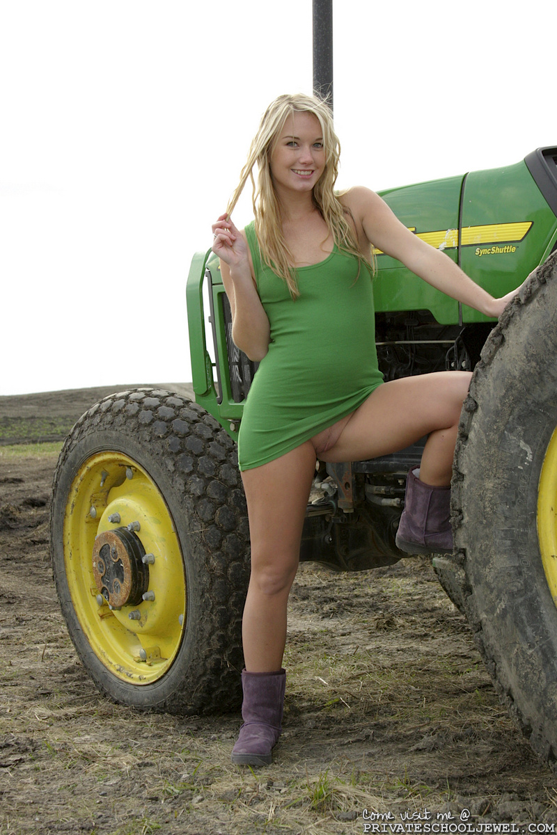 Agree, Big tractors and naked girls can
