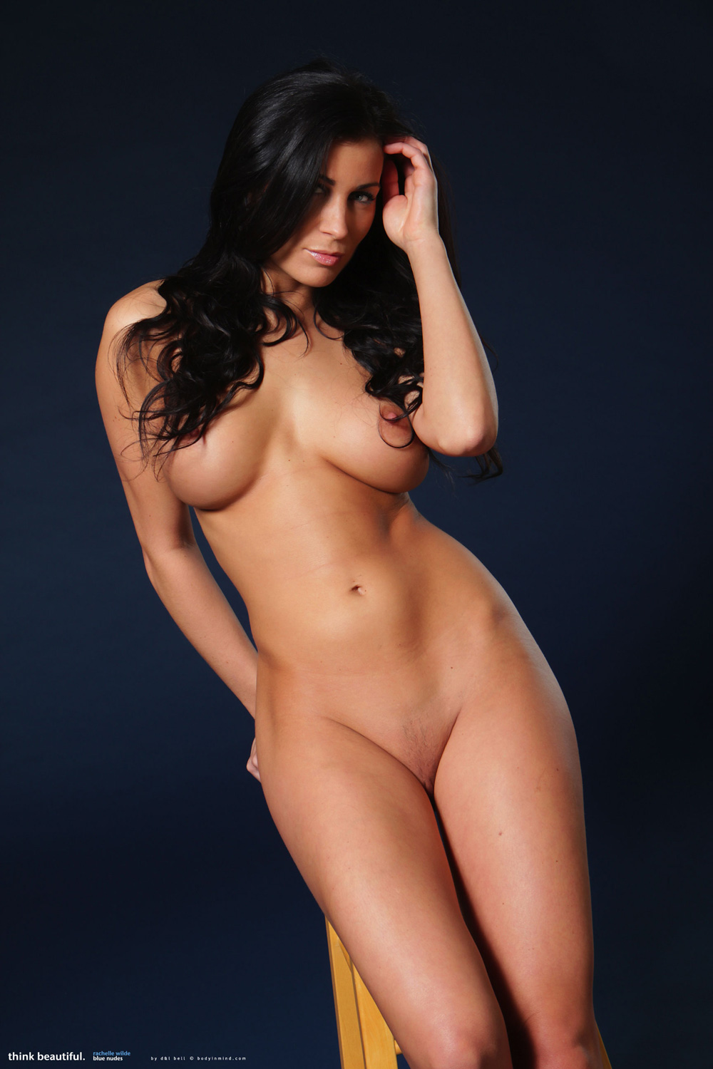 rachelle leah naked posing for playboy