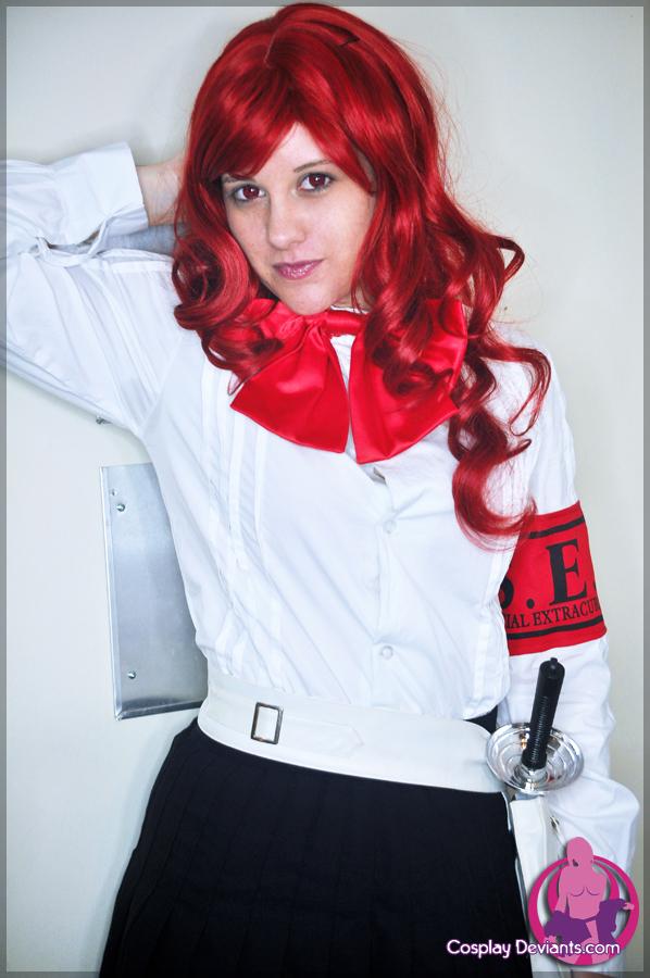 Redhead Cosplay Vixen
