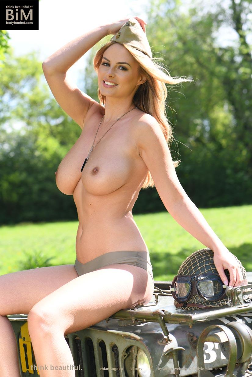 body mind in sugden nude Rhian