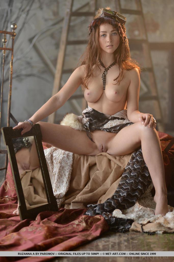 nude Cosplay beauty