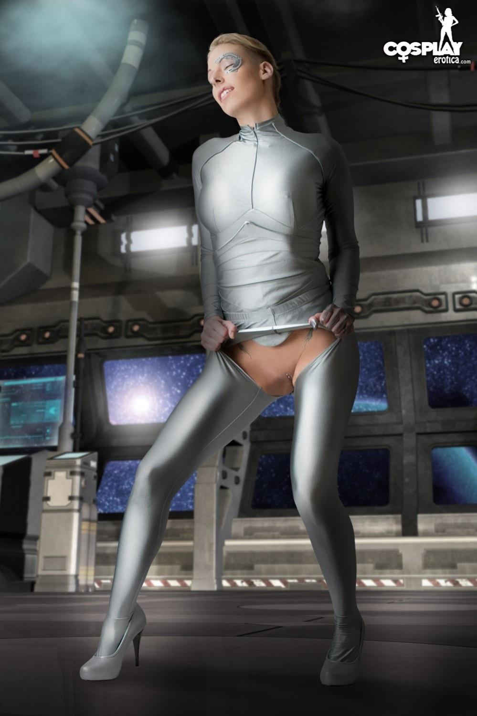 Star trek cosplay sexy big boobs you
