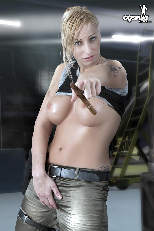 Cosplay erotica sandy bell