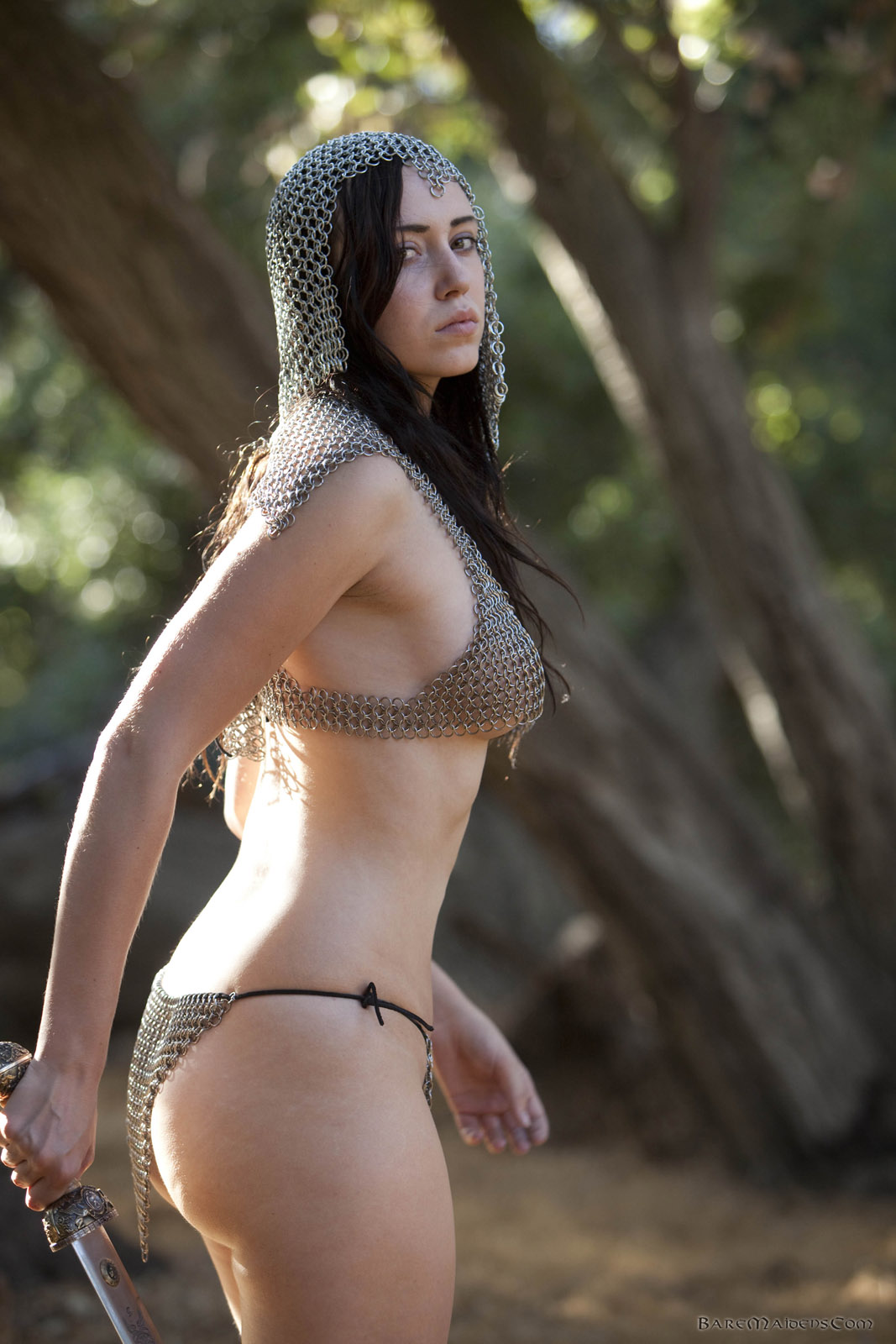 Bare maidens nude were visited