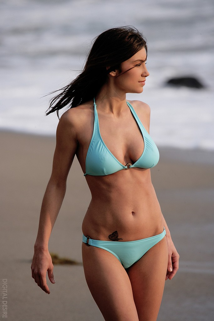 cherry nudes - sofia webber bikini