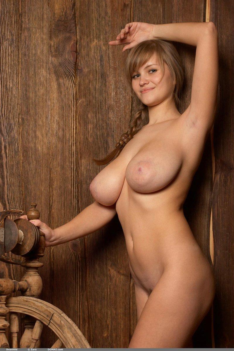 Nude farm girl