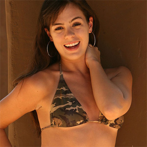 Abby Brooks Cami Bikini