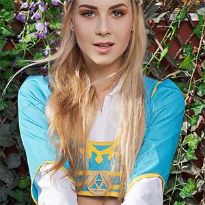 Alecia Fox Zelda Breath Of The Wild VR Cosplay X